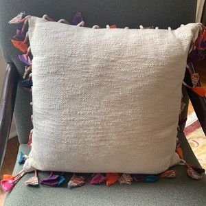 Anthropologie boho pillow